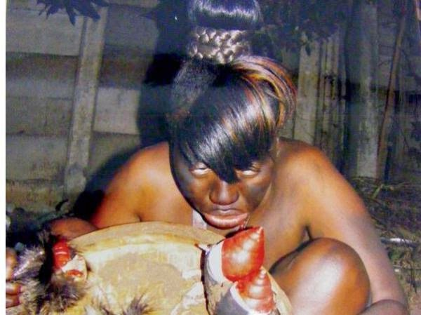Flesh Eating Witch Caught After Running Out Of Witchcraft Powers