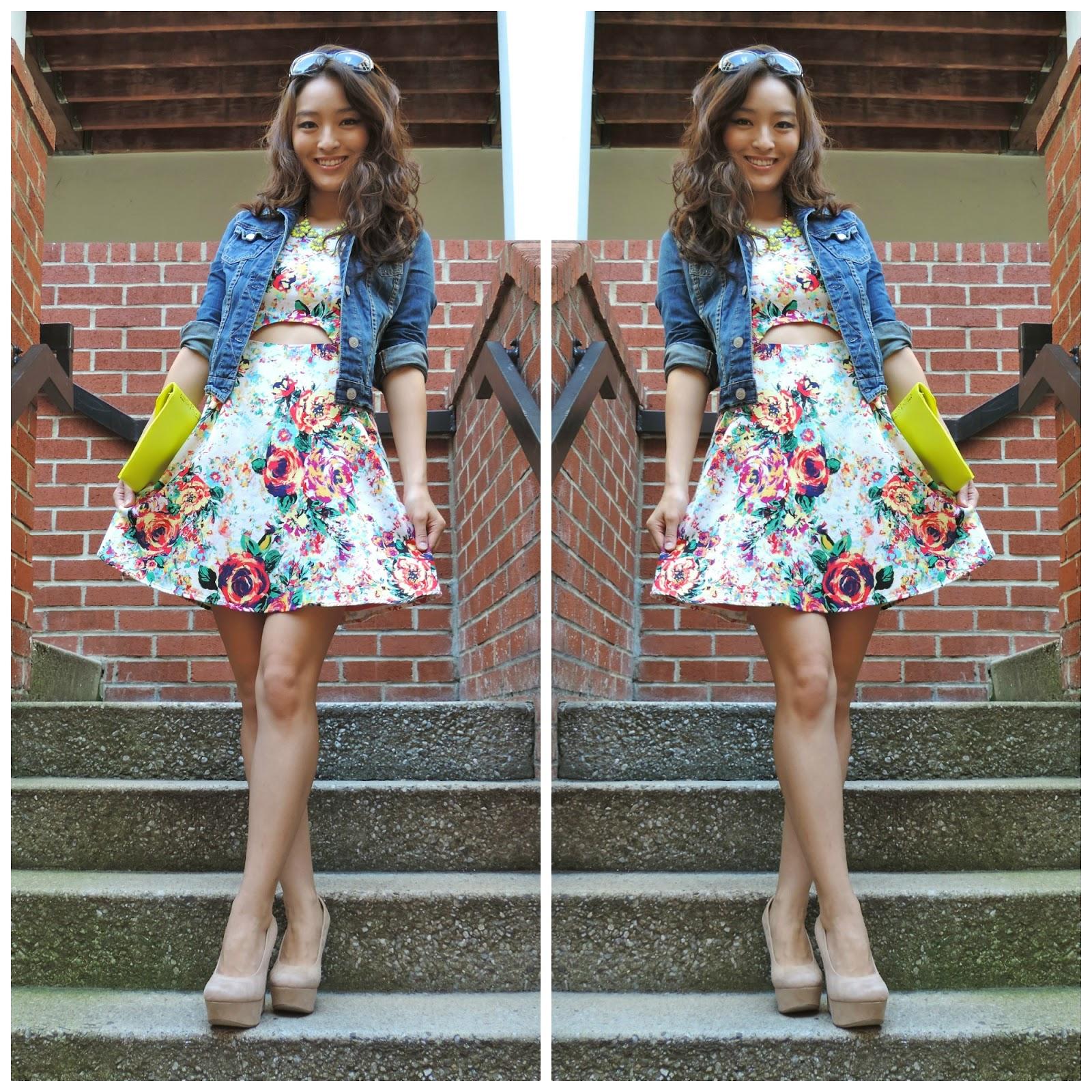 Jacket Over Sleeveless Dress