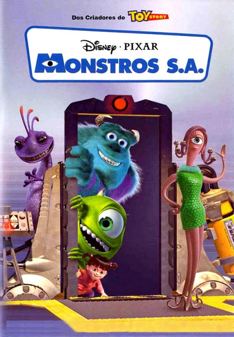 Monstros S.A. – Dublado (2001)