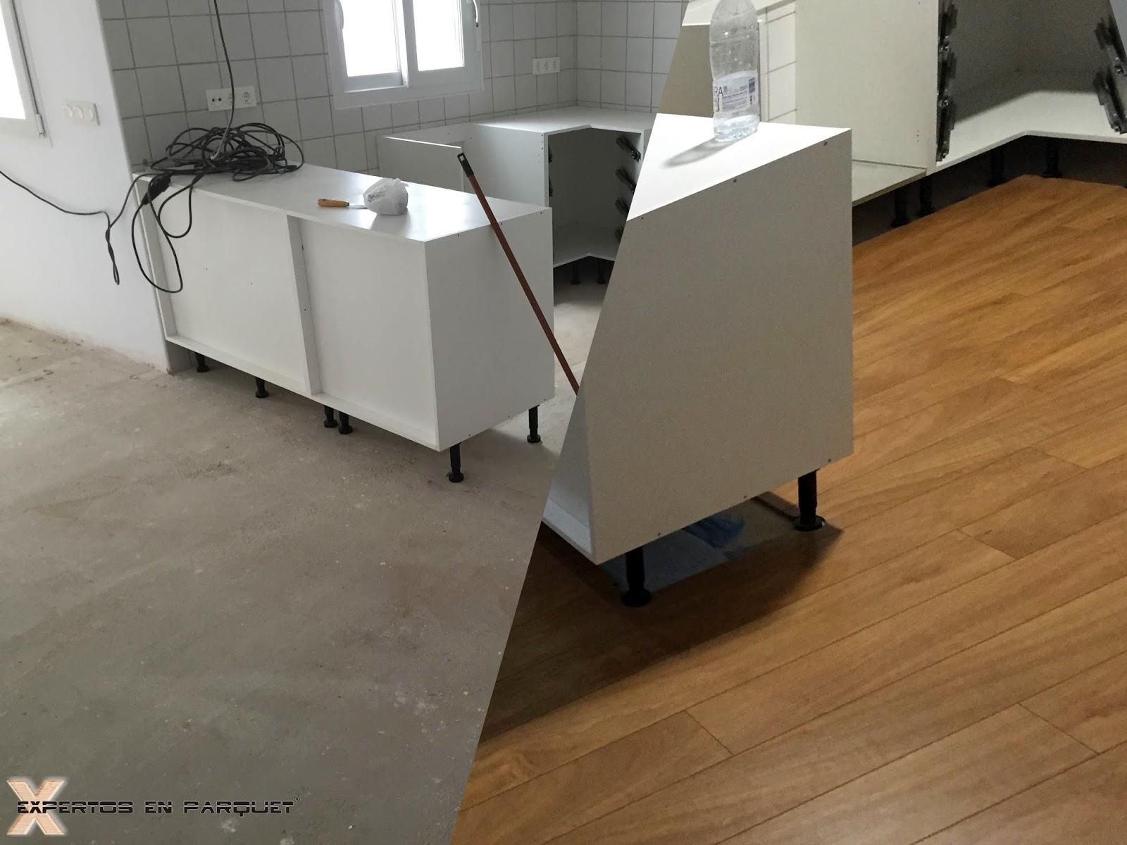 Colocar suelo de madera latest cmo instalar un piso - Cuanto cuesta poner parquet en un piso ...
