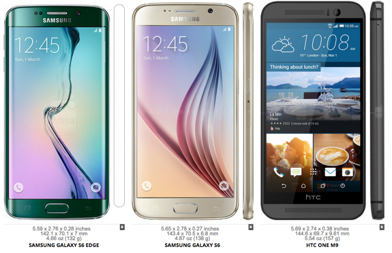 iPhone 6 vs Galaxy S6 vs One M9, Siapa Juaranya?