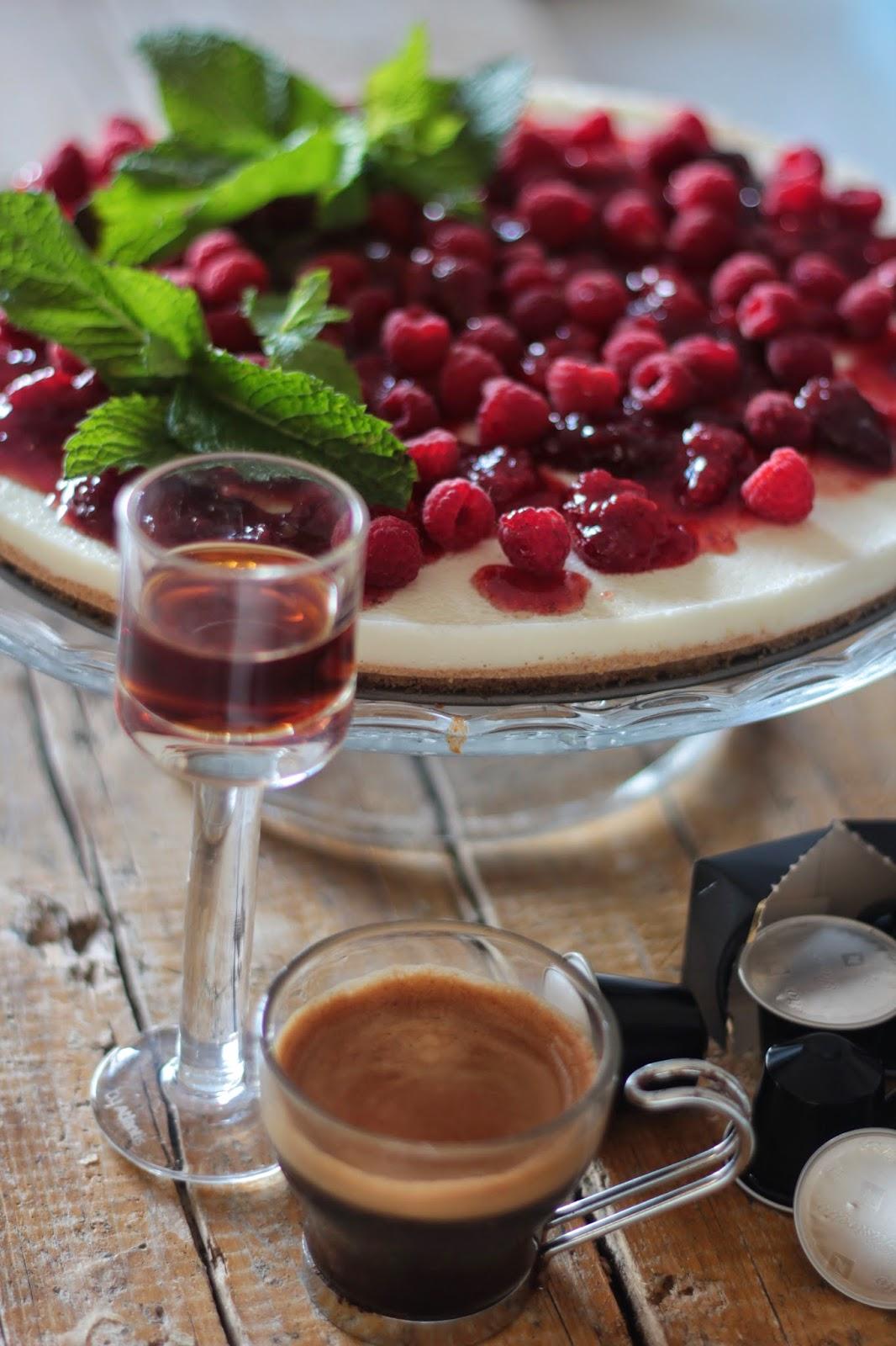 Cheesecake com Cuajada, Morangos e Framboesas, Nespresso e o Congresso Nacional dos Cozinheiros