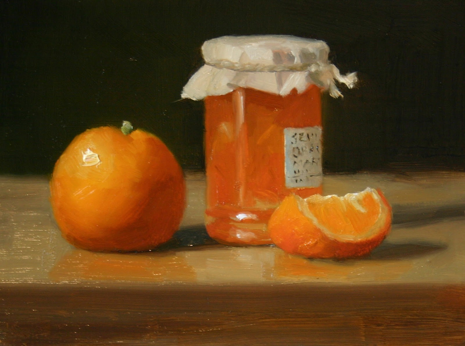 Liz Balkwill Paintings: Seville Orange Marmalade