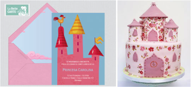 Castillos para una fiesta de princesas