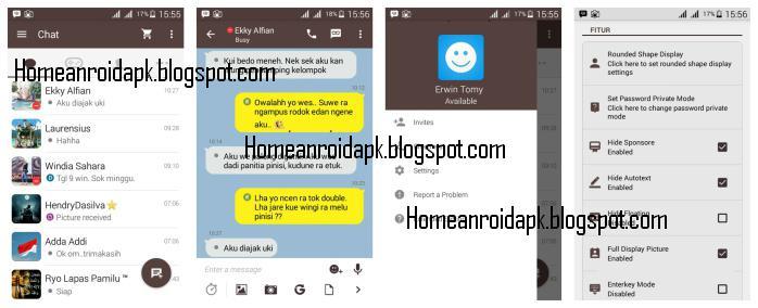 Download Mod BBM Themes KakaoTalk Version  Download Mod BBM Themes KakaoTalk V2.9.0.51