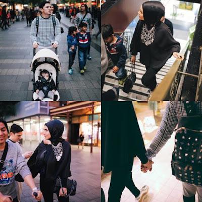 Percutian Rozita Che Wan & Keluarga Di Sydney