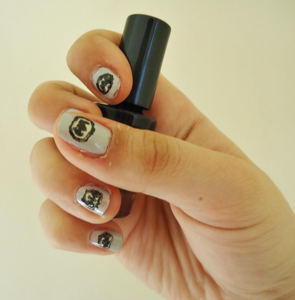 003~.~Batman 01 | Colourful-nails:)