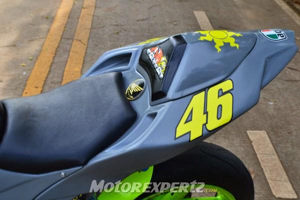 Gambar Modif Honda Tiger Revo Tema Sportbike YZR-M1 2014