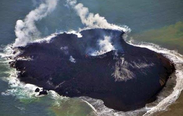Vidéo-La nouvelle île japonaise continue de grossir dans Environnement japon+ile+qui+ne+cesse+de+grossir+