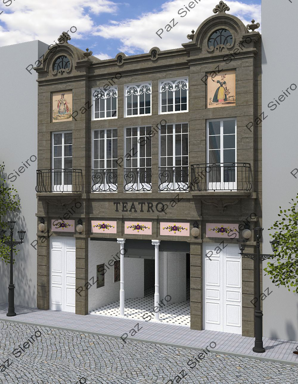 Works 3d 08 2012 - Arquitectos ourense ...