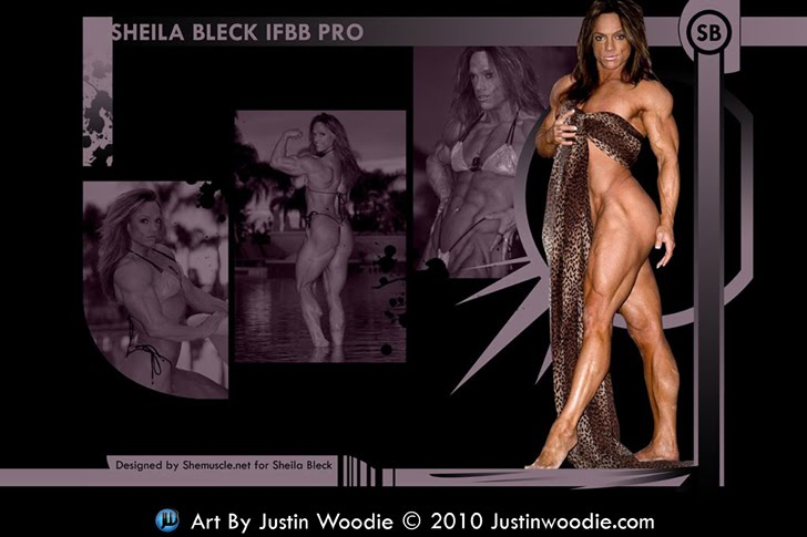 Sheila Bleck Widescreen Desktop Wallpaper For Shemuscle.net