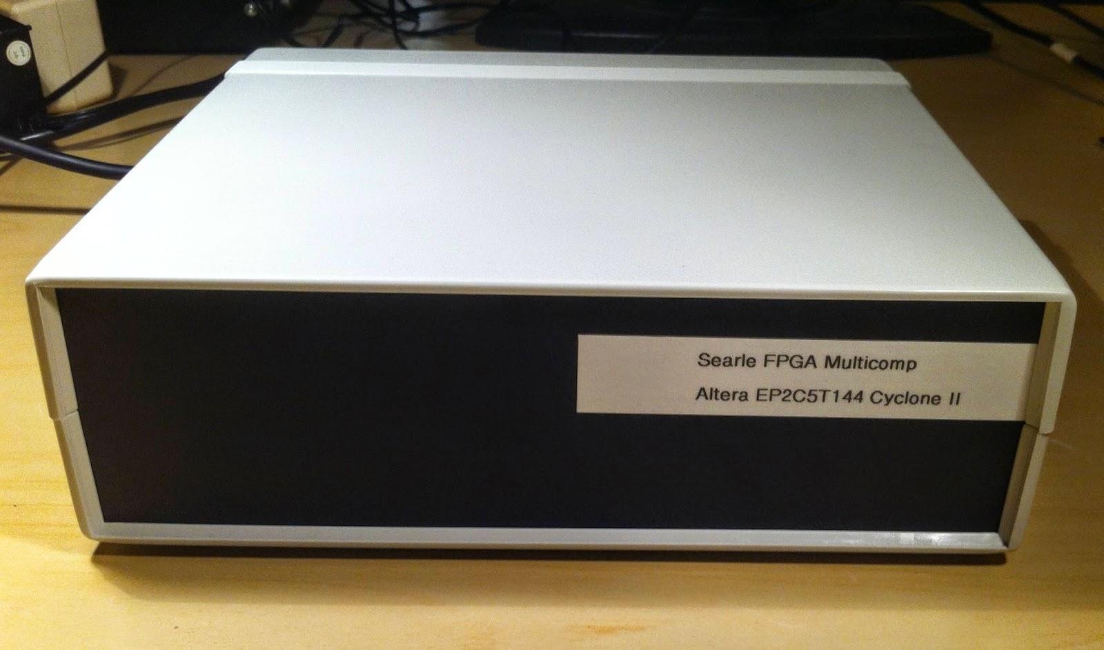 Retro FPGA: Grant Searle's Multicomp | Obsolescence Guaranteed