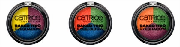 Carnival of Colours by CATRICE – Baked Trio Eyeshadow