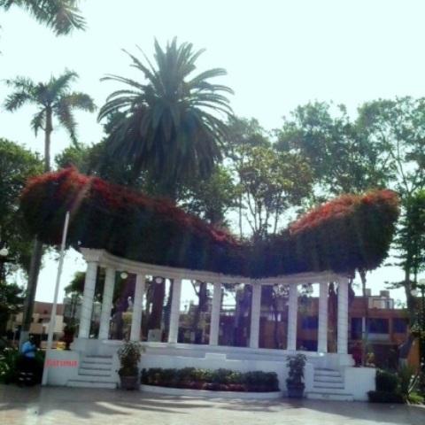 Glorieta del Parque Municipal de Barranco