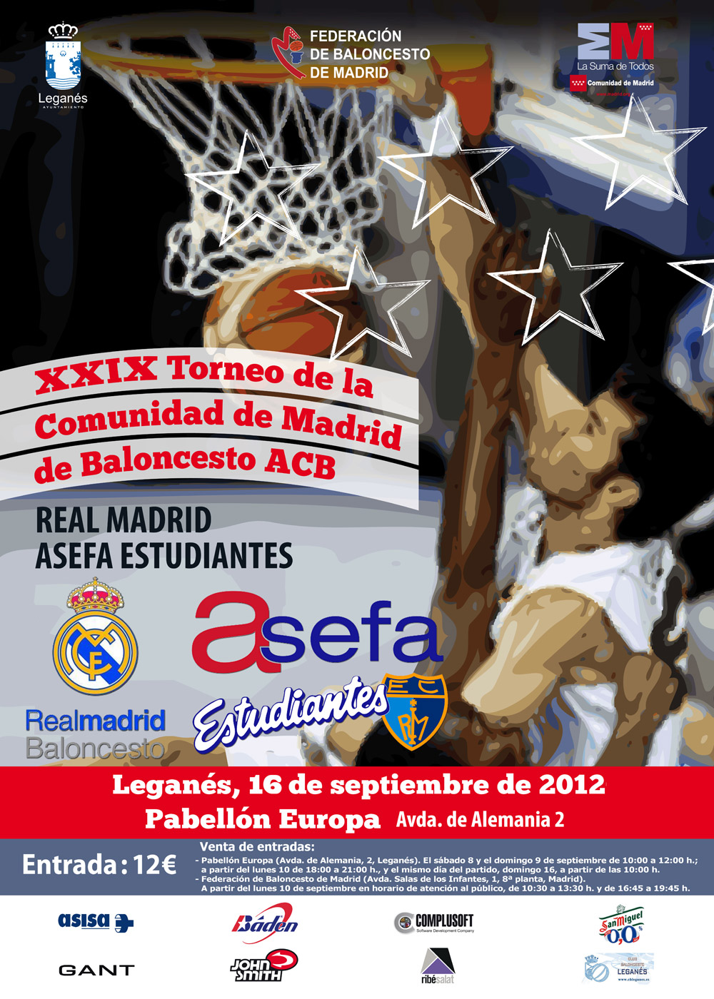 El trofeo comunidad de madrid de baloncesto vuelve a - Pabellon de deportes de madrid ...