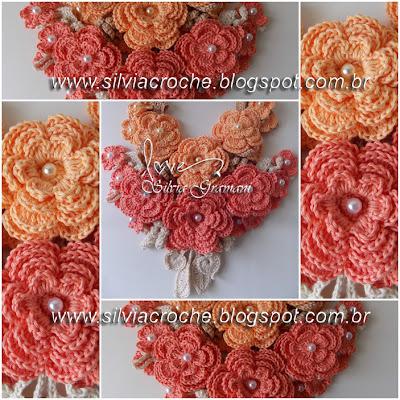 flores, flores de croche, croche