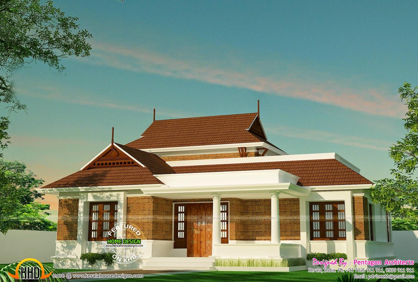 Kerala house plans set part 2 kerala home design and for Kerala house plan drawings