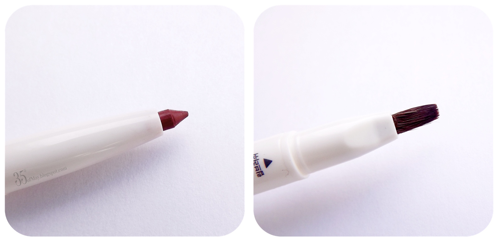 The Saem Saemmul Creamy Fix Lip Liner in 03 French Brown review