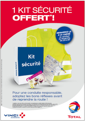 VINCI Autoroutes - 40 000 kits sécurité offerts !