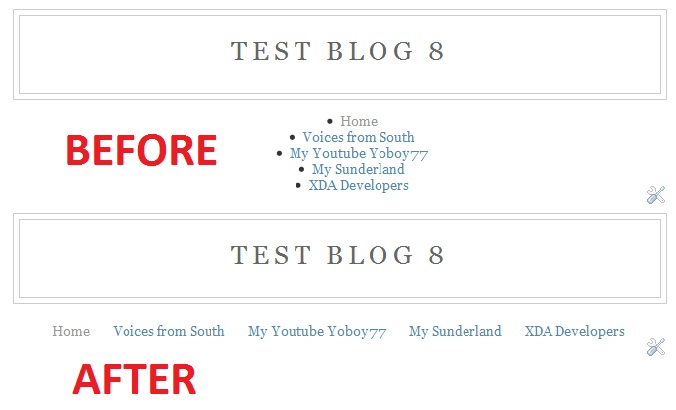 Horizontal blogger linklist gadget southern speakers v30 if youre using the old blogger interface go to dashboard design template designer advanced add css paste the following code press enter after pronofoot35fo Choice Image