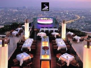 Restaurante Sirocco - Bangkok