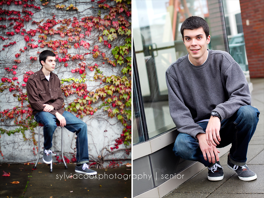 Tacoma senior portrait photographer