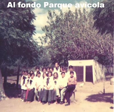 Parque avícola de escuela Granja 32 Cerro Largo Uruguay