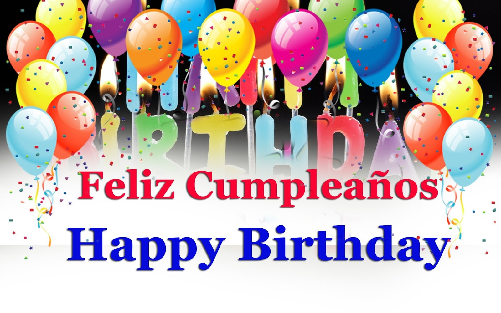 Feliz Cumpleanos Happy Birthday in Spanish Images