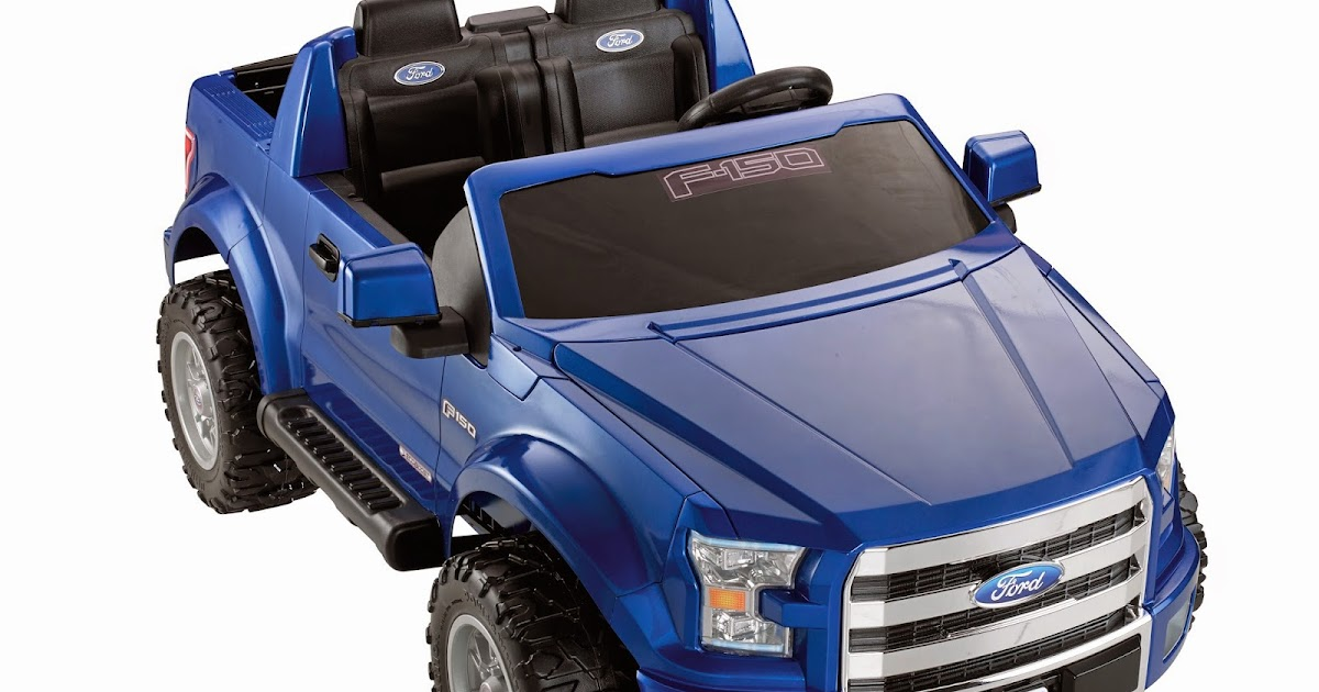 Autos am ricaines blog 2015 ford f 150 la version fisher price pour 349 99 dollars