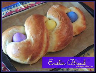 Easter Bread with Easter Eggs Recipe