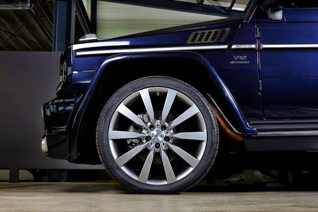 mercedes gelandewagen g65 art v12