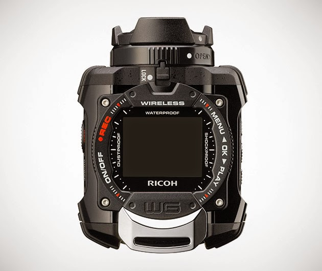 Ricoh WG-M1 Black Waterproof Action Video Camera