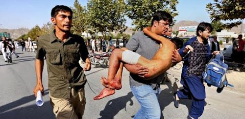 Estado Islâmico reivindica atentado em Cabul; Ataque Deixa Mais de 80 mortos