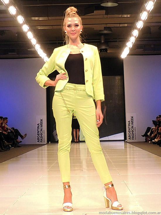 Adriana Costantini primavera verano 2015. Moda primavera verano 2015.