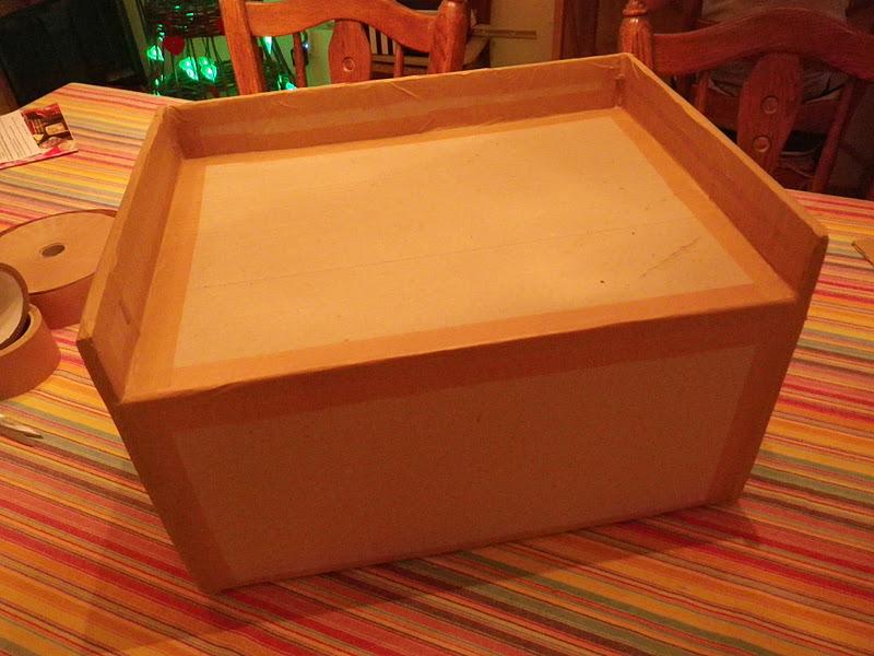 le gronopost chevet en carton pour lit haut suite. Black Bedroom Furniture Sets. Home Design Ideas