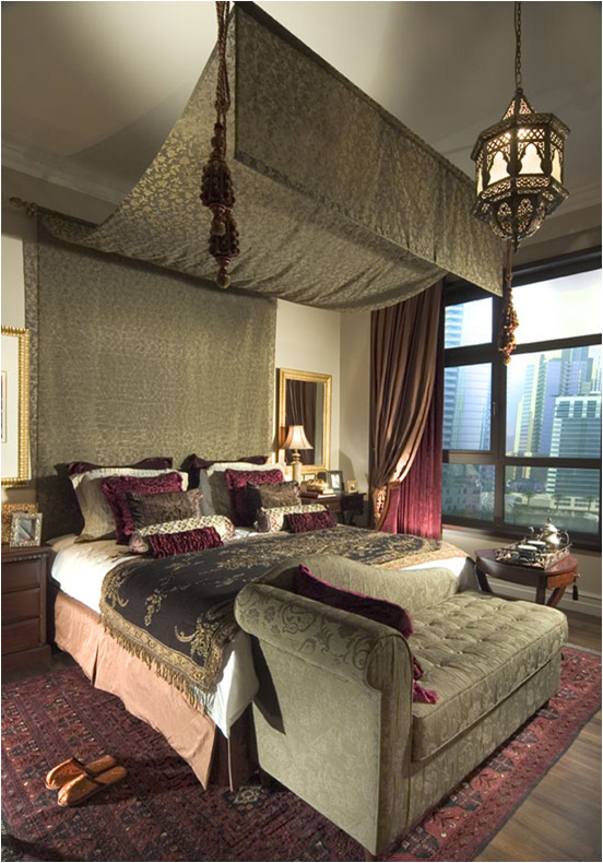 Moroccan bedroom design ideas room design inspirations for Moroccan bedroom inspiration