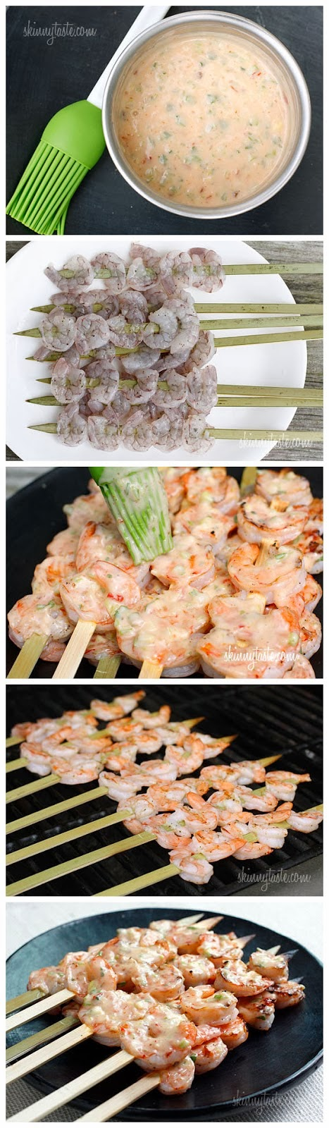 Bangin & Grilled Shrimp Skewers