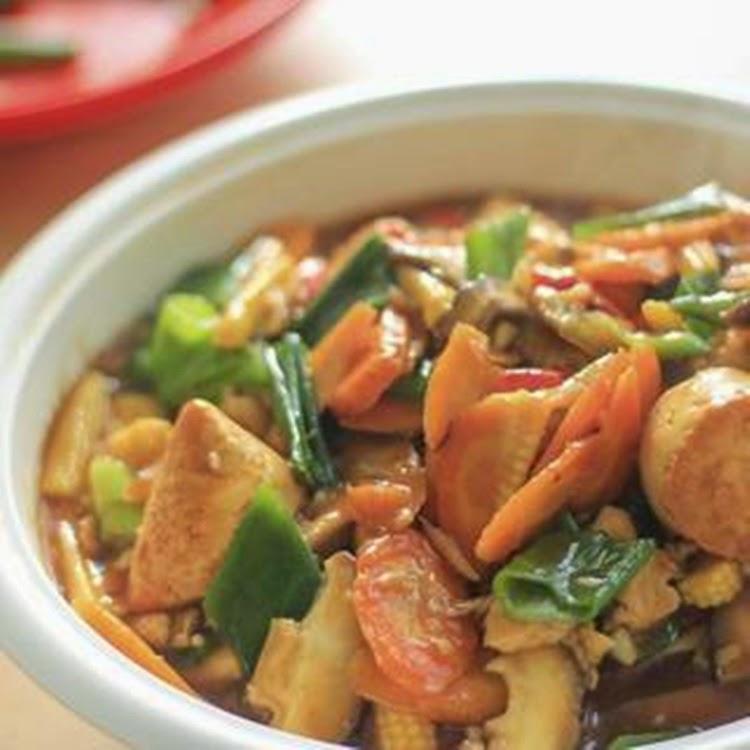 Resep Membuat Sapo Tahu Oriental Enak Mudah