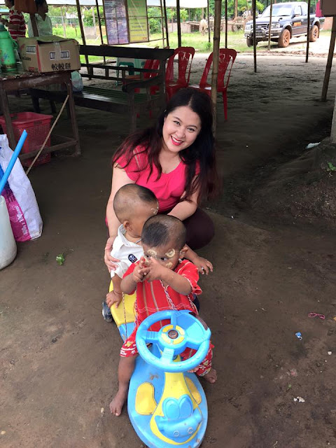 Myanmar Actress Pan Phyu Donation on Her Birthday