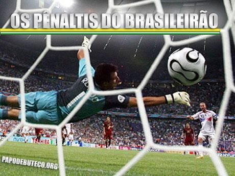 Ranking dos pênaltis do Brasileirão