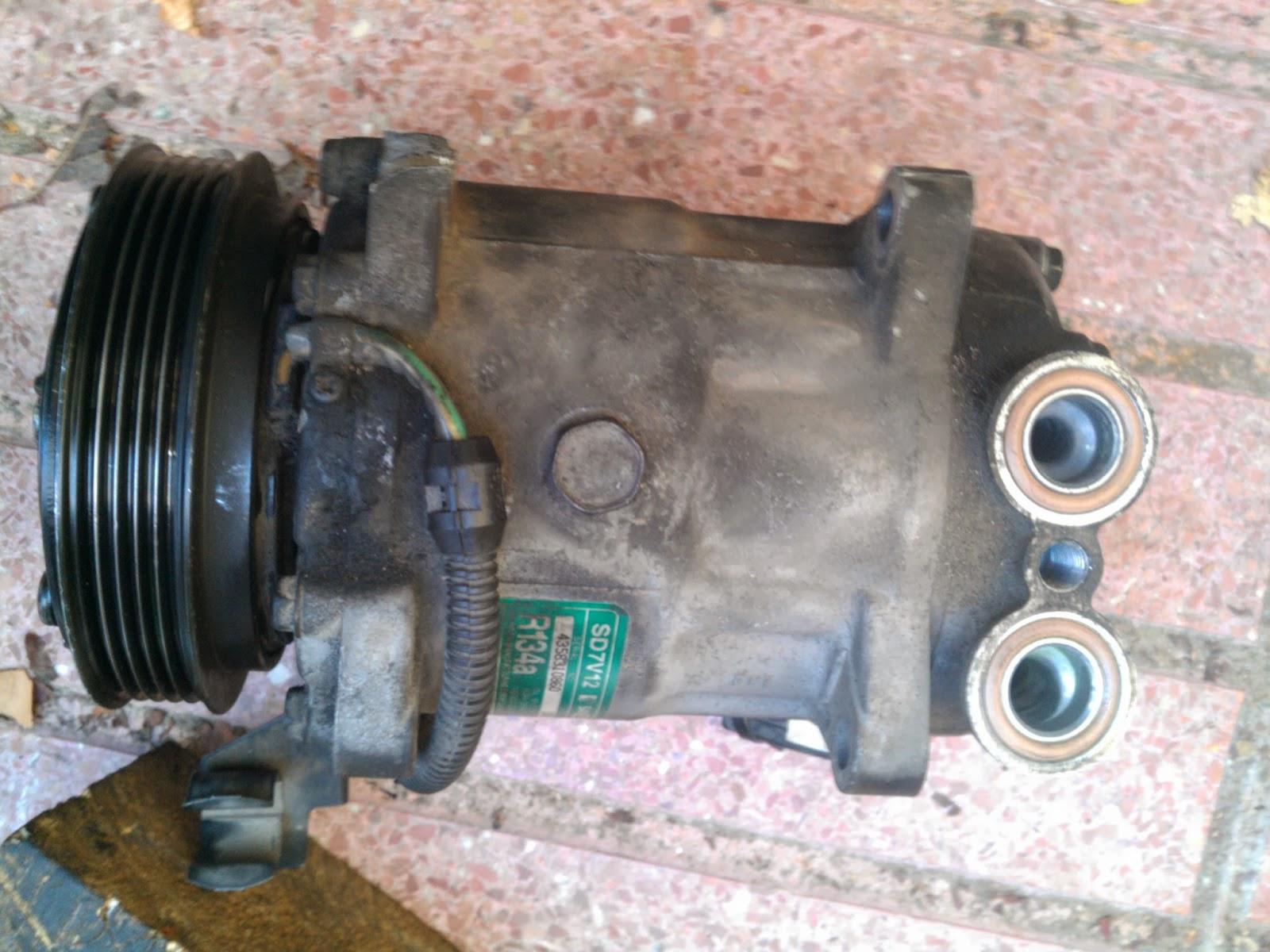 Bricotaller cambio de rodamiento de la polea y reten del for Compresor de aire acondicionado