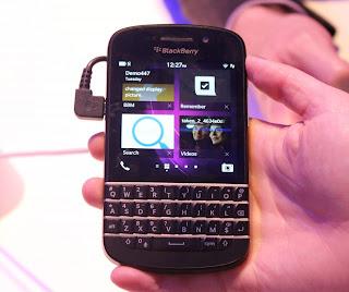 Info Spesifikasi Dan Harga BlackBerry Q10 Terbaru 2013