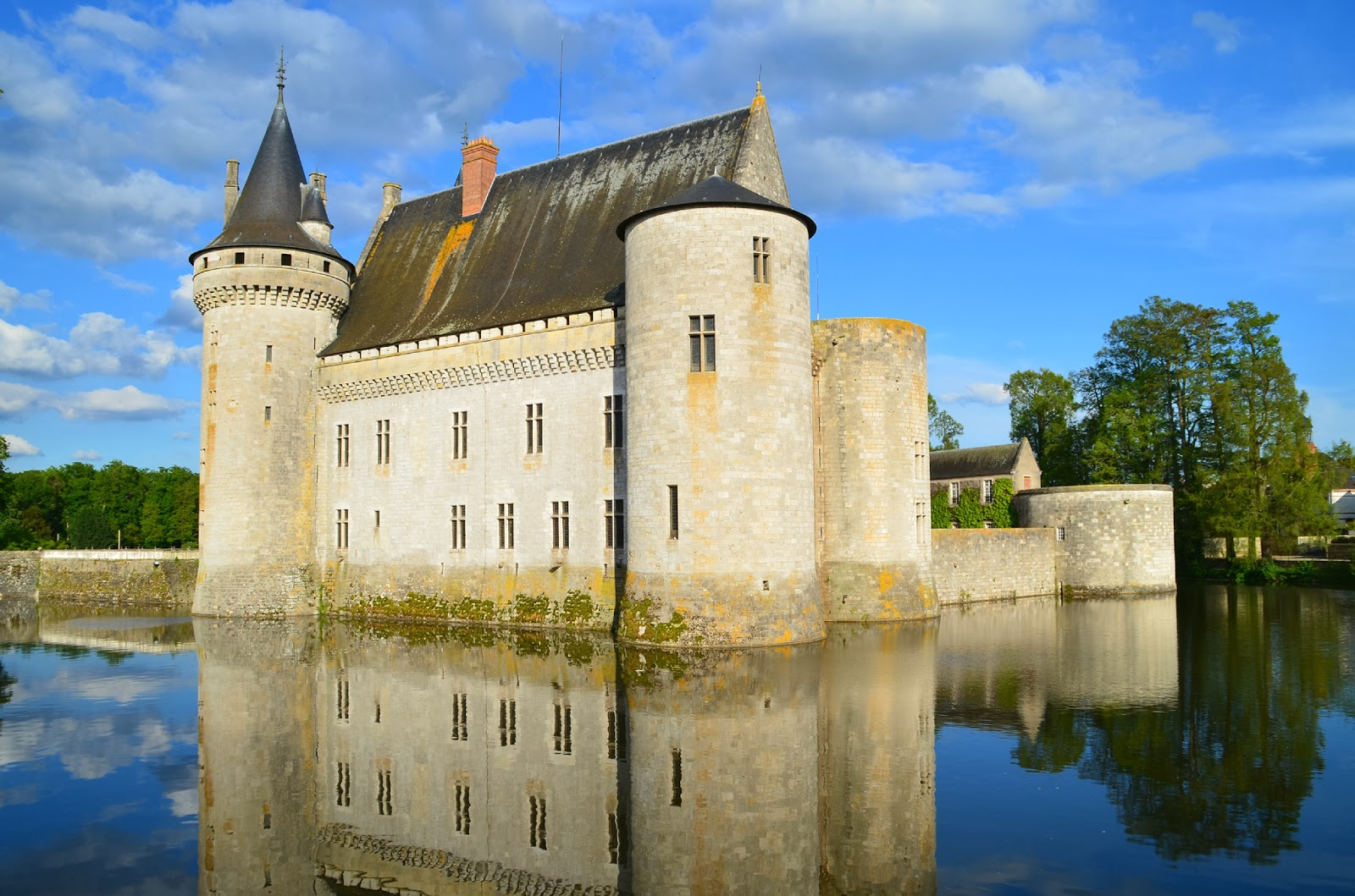 Sully sur Loire, Sully, chateau