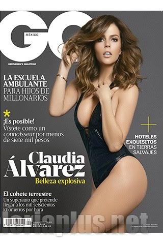 Claudia Álvarez Revista GQ México Mayo 2015 PDF Digital