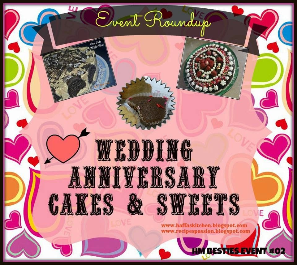 Blog Events| Event Round up| Wedding Anniversary Ideas| Cakes Ideas