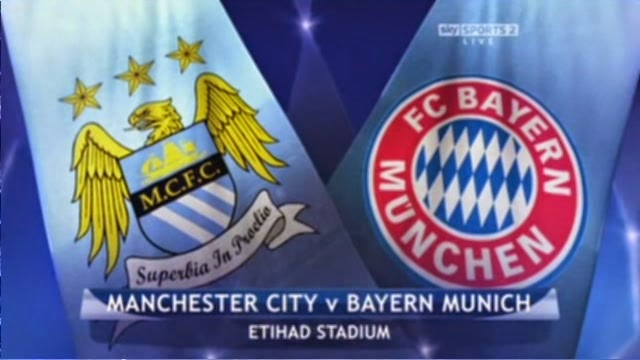 Man City lawan Bayern Munich