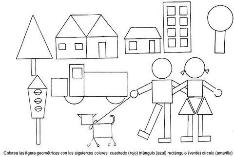 Dibujos de Figuras Geometricas  Vida Blogger