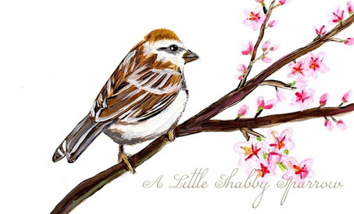 A Little Shabby Sparrow
