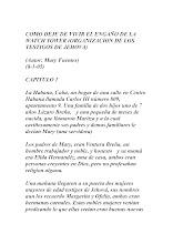 Libro: Cómo dejé de vivir el engaño de la Watchtower (Mary Fuentes)