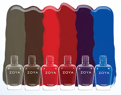 Zoya Focus for fall 2015